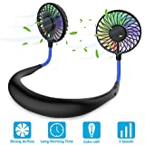 Hands Free Portable Neck Fan - Rechargeable Mini