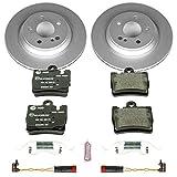 Power Stop ESK2997 Rear Euro-Stop Brake Kit