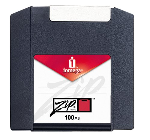 Iomega Zip 100 Disks 100 MB Mac Formatted (1-Pack) (Discontinued by Manufacturer) by Iomega
