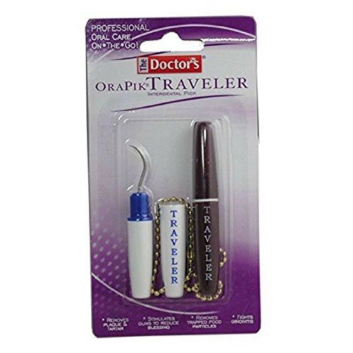 The Doctor's OraPik Traveler Interdental Pick 2 ea (Pack of -