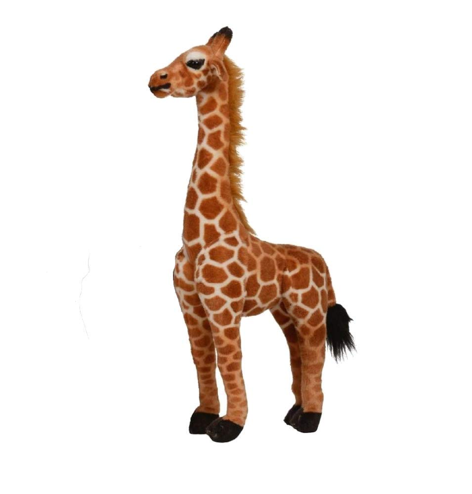 Realistic Giraffe Stuffed Animal Plush Toys - Lifelike Stuffed Animal Toys | 2 Feet Tall Stuffed Animal Plush | Party Gift Great Bedtime Toy for Boys & Girls, by Toy Goodkids by Toy Goodkids