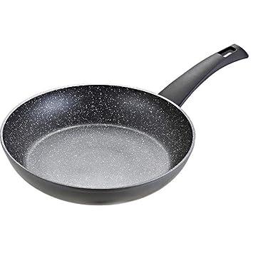 Sarten Antiadherente, Cacerola De Carne Sana Menos Humos, Sartén, Cocina De Induccion/Estufa De Gas Universal, Sin Cubrir, Aleación, 24cm (9.44in): ...