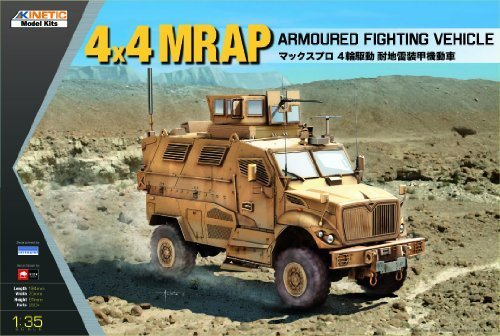 KINETIC MODEL KITS 1/35 1/35 1/35 4X4 MRAP ARMOROT FIGHTING VEHICLE K61011 by Kinetic aa4226