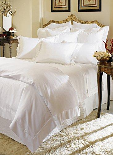 Milos by Sferra - King Pillow Case (pair) 22x42 (White) by Sferra