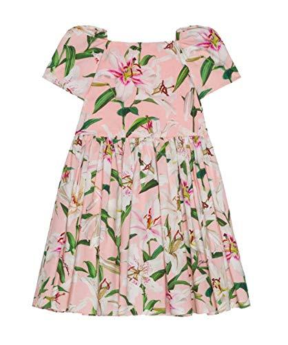 Dolce Dress Gabbana Pink - Dolce e Gabbana Girls L51dq6hs5ezhfkk8 Pink Cotton Dress