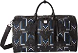 MCM Unisex Traveler Gunta Medium Visetos Weekender Black One Size