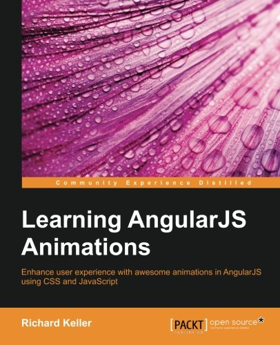 Learning AngularJS Animations Front Cover