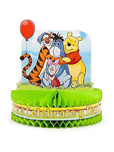 Winnie Pooh The Centerpiece - KidsPartyWorld.com Hallmark Disney Pooh and Pals Centerpiece