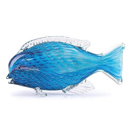 Glass Handmade Parrotfish - 9.5