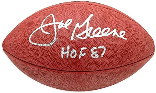 Joe Greene Pittsburgh Steelers Autographed Pro Football with HOF 87 Inscription - Fanatics Authentic Certified