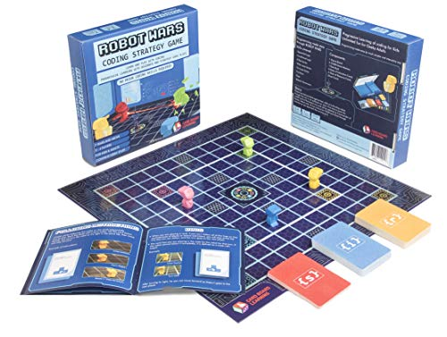 Robot Wars Coding Board Game -...