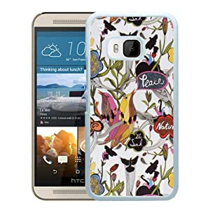 Sakroots 20 White HTC ONE M9 Cell Phone Case Durable and Custom Designed Case