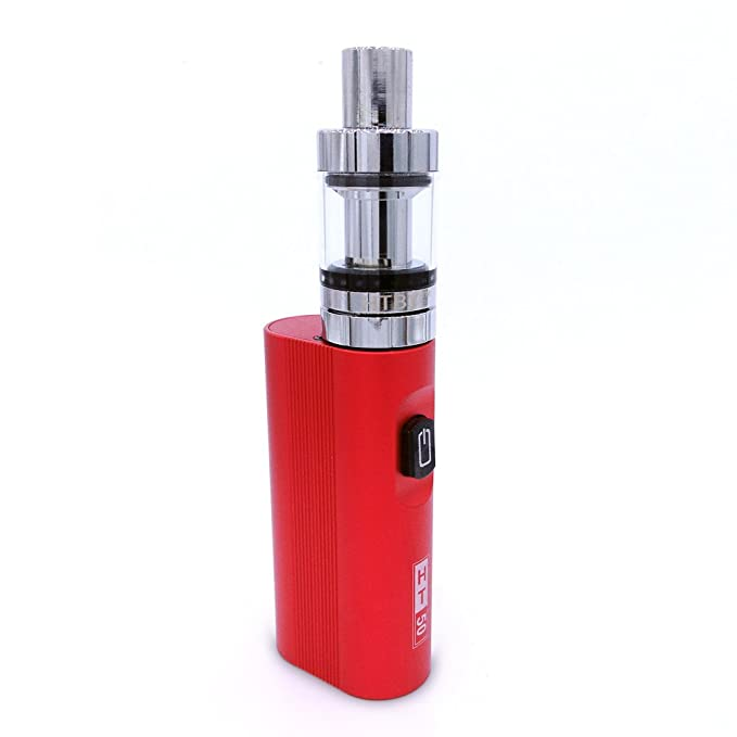 SZYSD Cigarrillo Electrónico, 50W Función de Relleno a Tope Atomizer, 2ml Atomizadore Vapeador Kit de cigarrillo electrónico, 2200mah Batería, ...