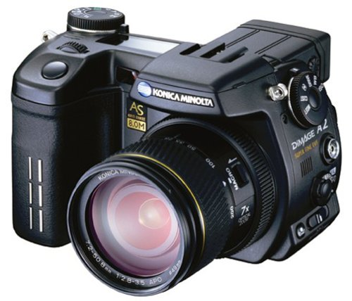 amazon com konica minolta dimage a2 8mp digital camera with 7x rh amazon com