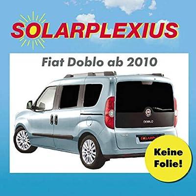 Auto Protección Solar Fiat Doblo máximo puertas correderas AB BJ.10 art. 26064 - 6: Amazon.es: Coche y moto