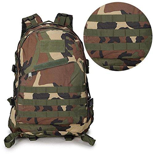 cloudwhisper Tactical Outdoor Militär Camping Wandern Tasche Reisen Rucksack camouflage h75QJk