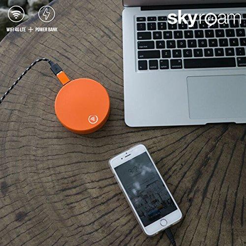 Skyroam Mobile Wifi Hotspot Amp Power Bank Breathing