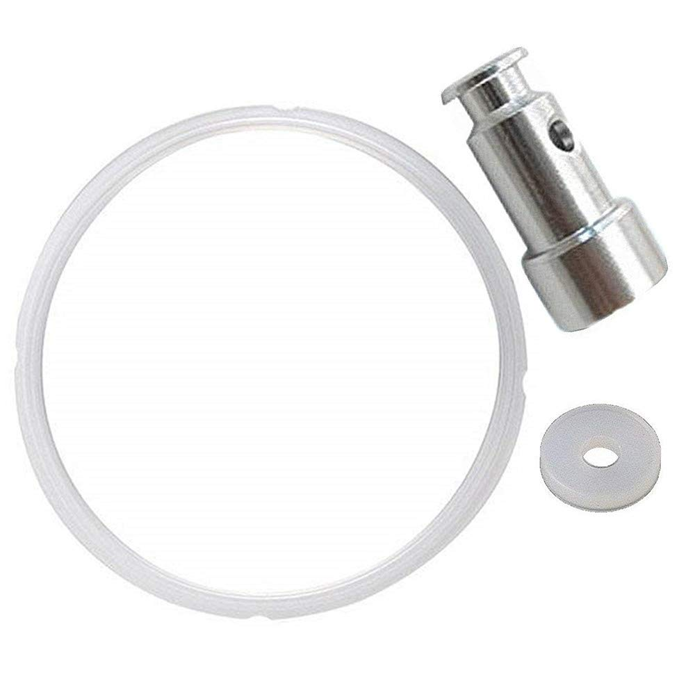 Universal Replacement Floater and Sealer for Pressure Cookers YBD60-100,PPC770 + Sealing Ring Silicone for IP-DUO60, IP-LUX60, IP-DUO50, IP-LUX50, Smart-60, IP-CSG60, IP-CSG50