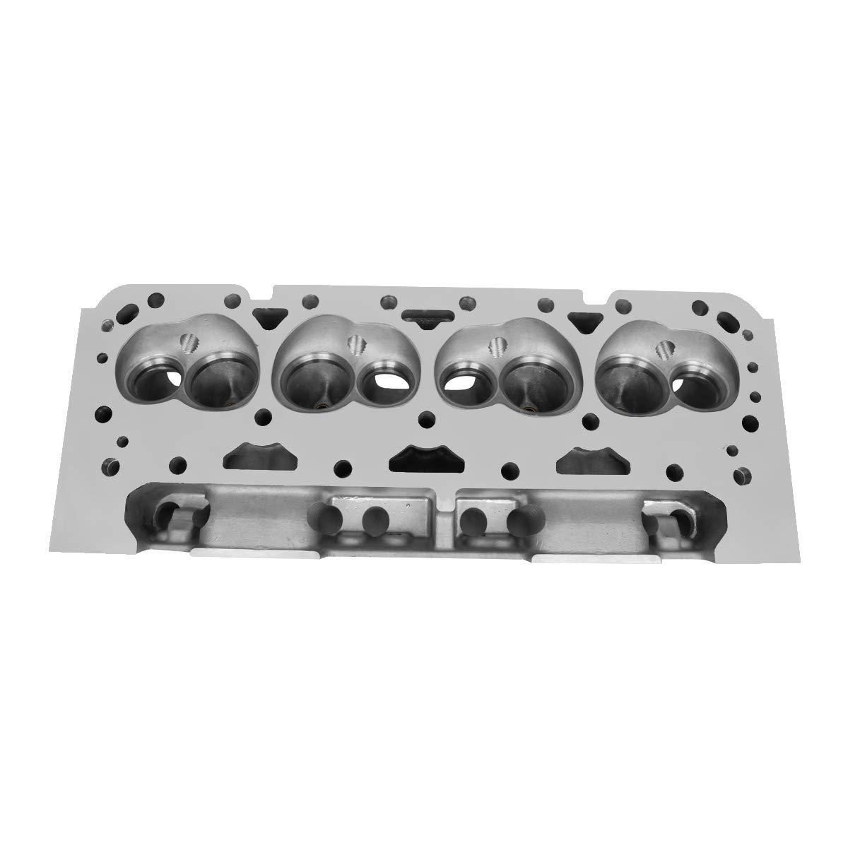 For Chevy Small Block 302//327//350//383//400 SBC 200cc Intake 68cc Straight Aluminum Bare Cylinder Head