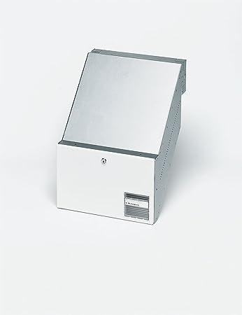 Siedle Durchwurfbriefkasten Nach Din 32617 Bkv 611 32 0 W Weiß