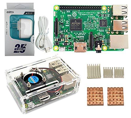 LANDZO Raspberry pi 3 Ultimate Kits
