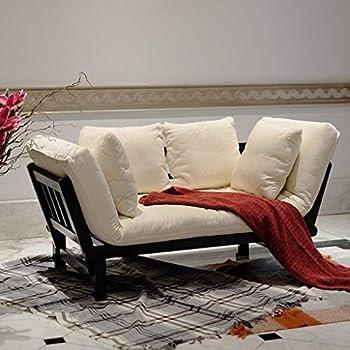 Amazon.com: HOMCOM - Sofá cama convertible de 3 posiciones ...
