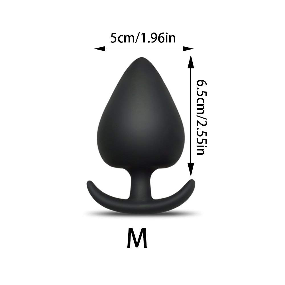 Amazon.com: Black Silicone Anal Plug Massage Anal Butt Plug Sex Toys for  Women Man Gay: Health & Personal Care