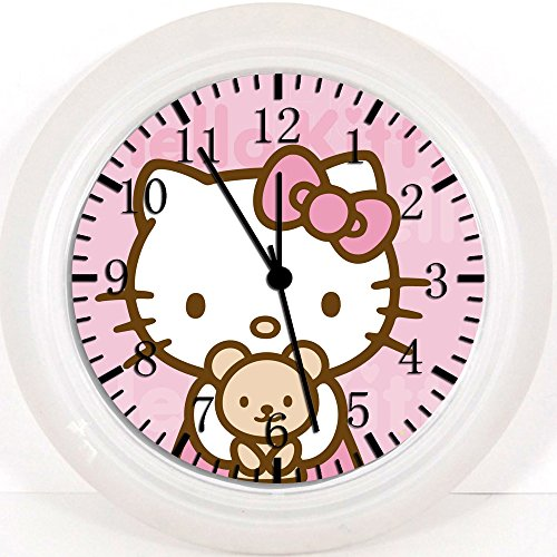 Hello Kitty Teddy Bear Wall Clock