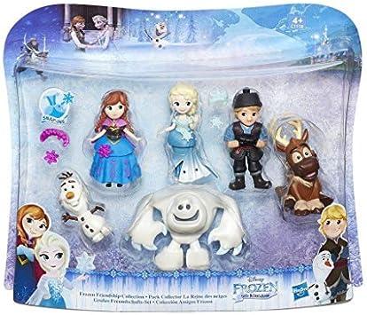 Amazon.es: Hasbro Disney Frozen C1118EU4 - Set de Figuras de Frozen, pequeño Reino: Juguetes y juegos