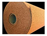 4' WIDE (BY THE FOOT) 1/4'' THICK ONE CORK ROLL CHOOSE SIZE bulletin board sheet