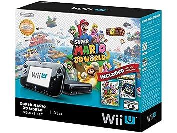 Amazon.com: Nintendo Wii U 32 GB Deluxe Set: Super Mario 3D World ...