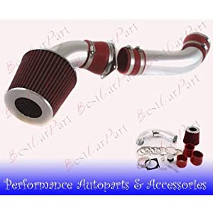 01 02 03 Mazda B4000/ford Ranger 4.0l Cold Air Intake Red (Included Air Filter) #Cai-fd011R