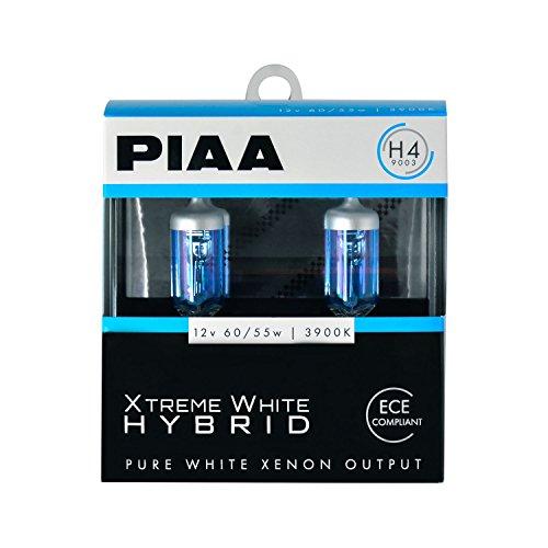 H4 Xtreme White Plus (PIAA 23-10104 Xtreme White Hybrid H4 Bulb (3900K - 12V 60/55W), 2 Pack)