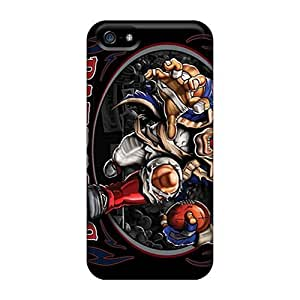 Ultra Slim Fit Hard Leeler Case Cover Specially Made For Iphone 6 plus- New England Patriots