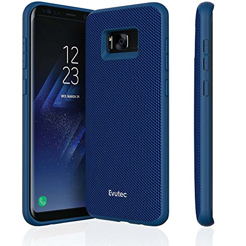 Evutec AERGO Ballistic Nylon Series Case for Samsung Galaxy S8+ - Blue