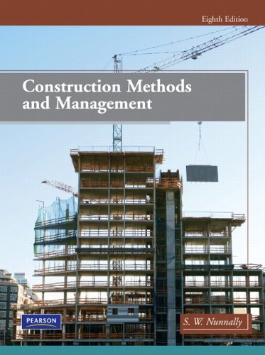 Construction Methods and Management (8th Edition) by Pearson