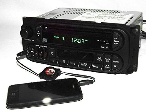 (1 Factory Radio AM FM CD CS iPod Input Compatible With 1998-2002 Chrysler Dodge Jeep P04858540 Twin 7 RAZ)