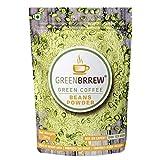 Greenbrrew Organic Green Coffee Beans Powder - 200g (7.05 OZ)