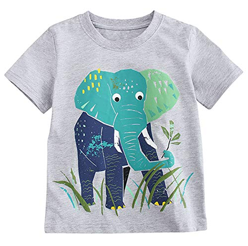 Fiream Baby Boy's Cotton Cute Short Sleeve Clothing Set(Set1,3T) by Fiream (Image #2)
