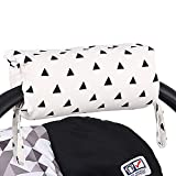 Black Triangle Car Seat and Baby Carrier Cushion by
