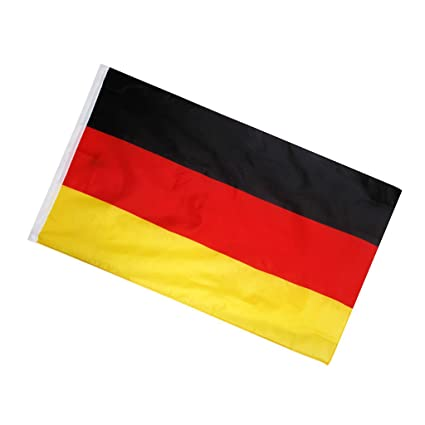 generic germany national flag german large banner black red yellow