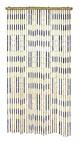 Beaded Door Curtains (Criss-Cross Bamboo Beaded Door Curtain -)