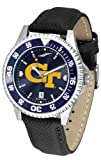 Georgia Tech Yellow Jackets Competitor AnoChrome Men's Watch - Color Bezel