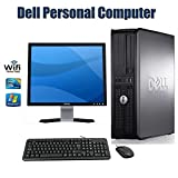 PC Desktop Computer !!! Dell OptiPlex 780 Desktop Computer with 17 Inch Dell Monitor- Intel Core 2 Duo 2.93 GHz 4GB RAM 160GB HDD DVD ROM Windows 7 Pro 64 Bit Keyboard, Mouse WiFi