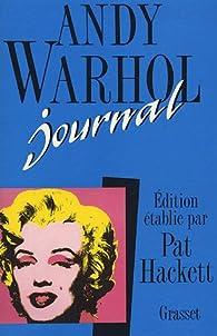 Journal par Andy Warhol