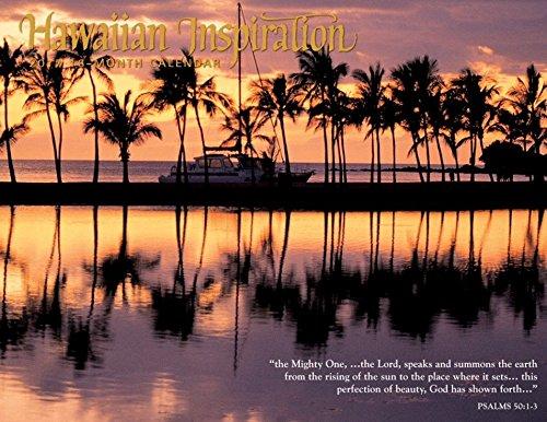2017 Hawaiian Inspiration Month Calendar