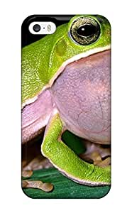Fashionable Style Case Cover Skin For Iphone 6 plus Frog(3D PC Soft Case)