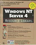 Windows NT Server 4 Resource Library, New Riders Development Group Staff, 1562056948