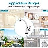 Agua Potable Llave, Solo grifo de agua fría Grifo de agua de plástico ABS para fregadero de cocina Accesorios para lavabo de baño G1 / 2(#4)