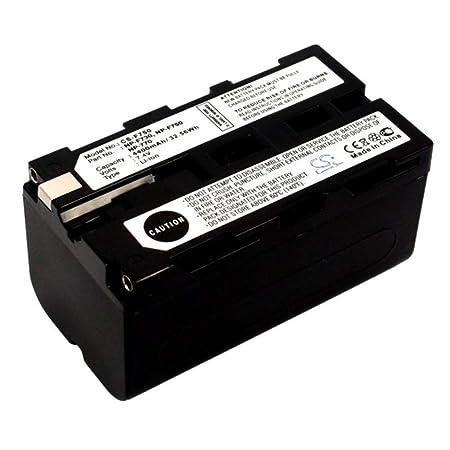 LULUVicky 4200mAh / 25.20Wh 6.0V Batería de cámara para ...
